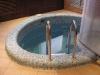 железо-бетонная купель, частная сауна