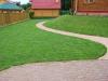 газон, частный ландшафт