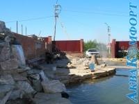 Водопад и пруд - п.Восточный